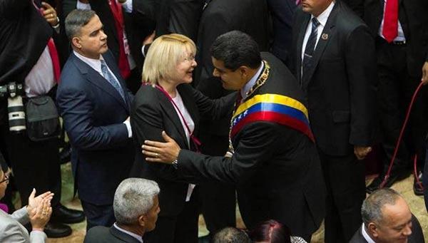 La fiscal Ortega Díaz rechazó las sentencias emitidas por el TSJ | Foto: EFE