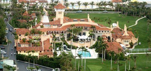 El club Mar-a-Lago, de Trump | Foto: cnbc