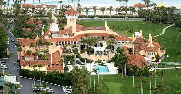 El club Mar-a-Lago, de Trump   Foto: cnbc