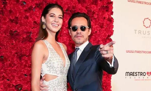 Marc Anthony y su nueva novia, Marinan Downing   Foto: Getty Images