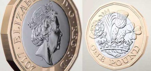Así luce la nueva moneda de una libra |Foto: Unión Radio