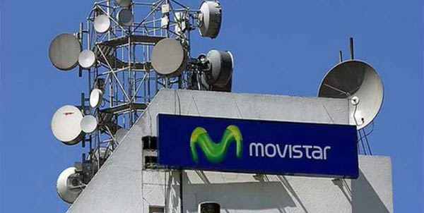 Fallo en servicio de Movistar se generó por corte de fibra óptica