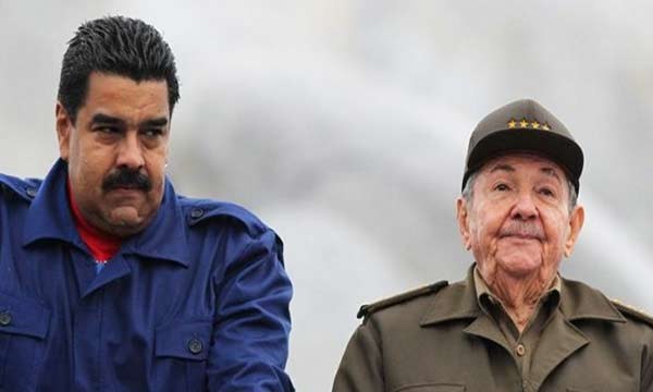 Presidente Nicolás Maduro junto al presidente de Cuba, Raúl Castro |Foto: EFE
