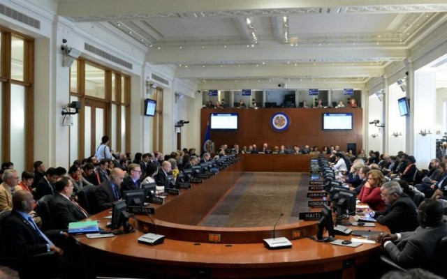 OEA suspendió sesión sobre Venezuela sin lograr acuerdo | Foto: EFE
