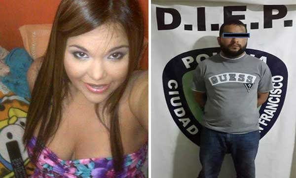 La abogada Olga Sánchez / El ex esposo de la víctima, Luis Rafael Gutiérrez