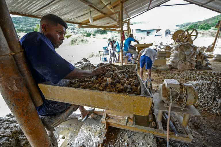 La minería ilegal del oro en Venezuela