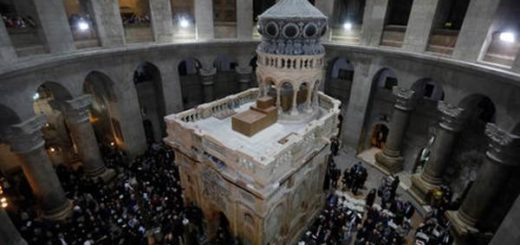 Así luce la tumba de Jesucristo después de ser restaurada | Foto: Reuters