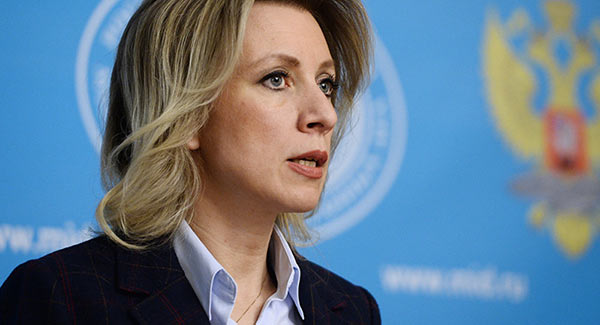 María Zajárova, canciller de Rusia