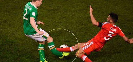 Futbolista irlandéz, Seamus Coleman | Foto: mirror.uk
