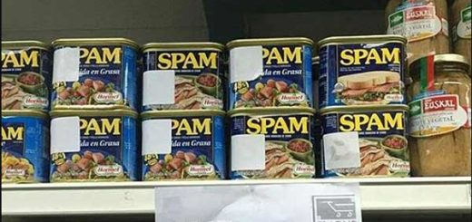 Carne de lata Spam | Foto: Instagram noticias24hrs