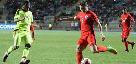 Venezuela vs Chile - sub 17 | Foto: Lavinotinto.com