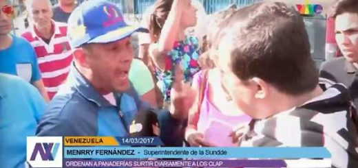Superintendente de Sunagro amenaza a panadero | Foto: captura de video