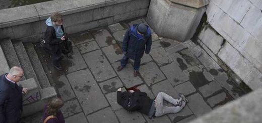 Disparos a las puertas del Parlamento británico, reportan varios heridos | Foto: Reuters
