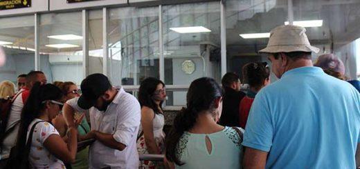 La mayoría de los venezolanos salieron de Panamá para renovar el permiso que les permite estar legalmente como turistas | EFE