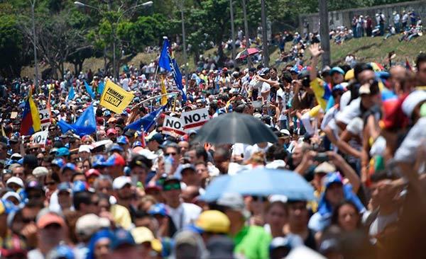 Oposición convoca a movilizaciones de calle para este miércoles y jueves | Foto: Cortesía