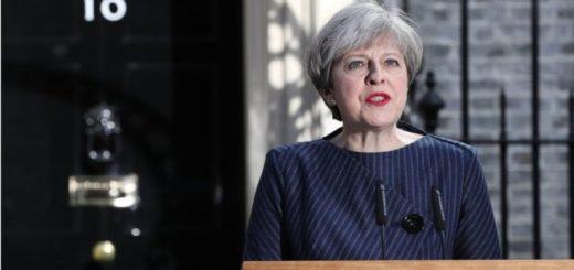 La primera ministra de Reino Unido, Theresa May, |GETTY IMAGES