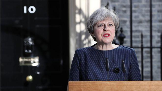 La primera ministra de Reino Unido, Theresa May, anunció por sorpresa unas nuevas elecciones|GETTY IMAGES