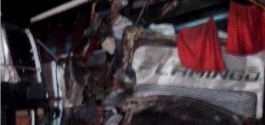 Accidente en el kilómetro 80 de la ARC  Foto: Jorge Galindo