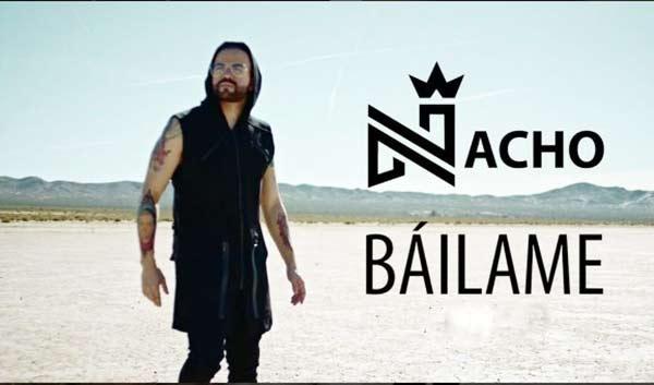Nacho estrena su video 'Báilame' |Foto: Instagram