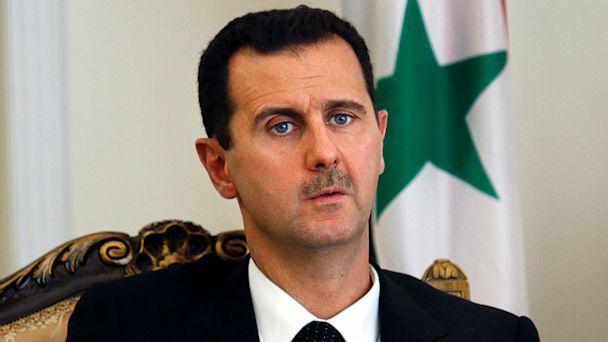 Basharal Assad, presidente de Siria | Foto: AP