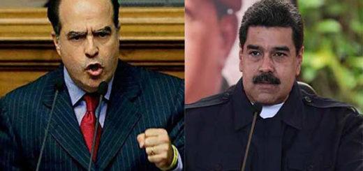 Julio Borges / Nicolás Maduro | Composición Notitotal