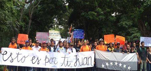Manifestantes y diputados rinden homenaje a víctimas de la represión en Altamira | @AsambleaVE
