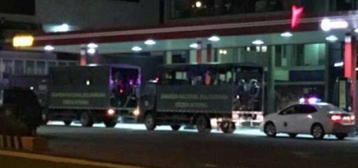 Militarizaron Los Teques desde la noche de este jueves | Foto: Twitter