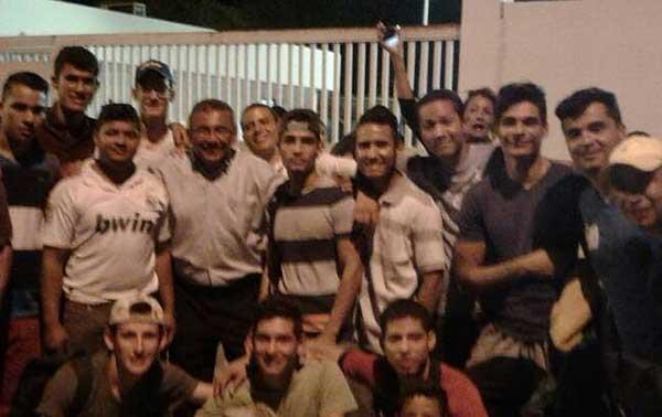 Liberaron a estudiantes detenidos el 19A en Coro   Foto: @manaurejuan