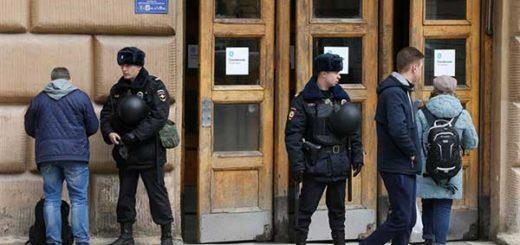 Vuelven a cerrar estación de metro de San Petersburgo tras aviso de bomba | Foto: Agencias