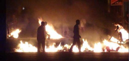 Al menos cuatro heridos dejaron protestas en Barquisimeto y Cabudare | Foto: El Impulso