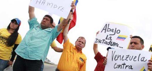 Oposición tomó el puente sobre el Lago de Maracaibo | Foto: @JuanPGuanipa