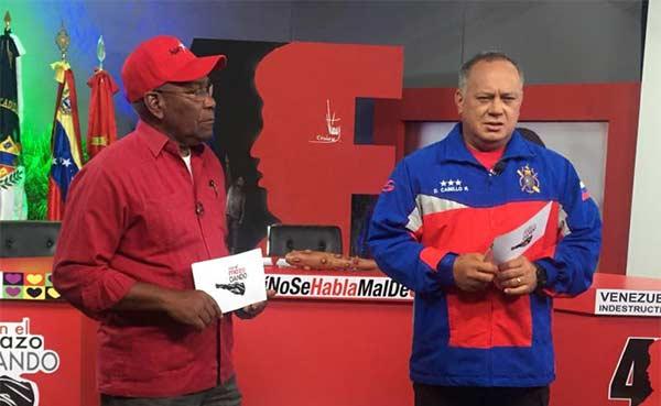 Diosdado Cabello, Vicepresidente del PSUV | Foto: @ConElMazoDando
