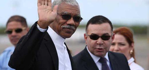 Presidente de Guyana se reúne con mediador de la ONU por disputa fronteriza | Foto: Agencias