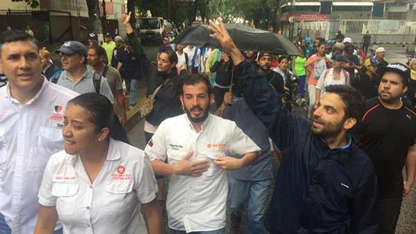 Juan Andrés Mejía, Diputado de la Asamblea Nacional (AN) y dirigente de VP | Foto: Twitter
