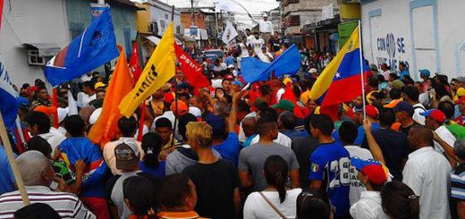 Denuncia presencia de grupos violentos en marcha opositora en Delta Amacuro | Foto: Twiter