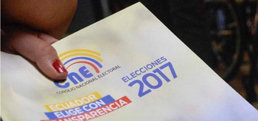 Elecciones presidenciales de Ecuador 2017 | Foto referencial