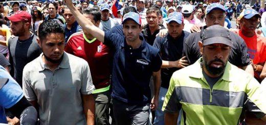 Henrique Capriles, gobernador del estado Miranda |Foto: Nota de prensa