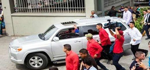 Caravana presidencial  Foto: El Cooperante