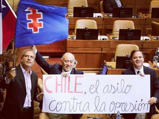Congreso de Chile aprueba asilo político para Roberto Enríquez |Foto: Nota de prensa