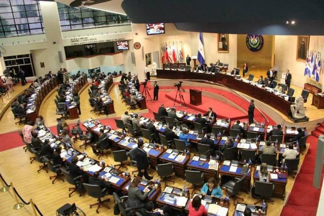 Congreso de El Salvador |Foto: EFE