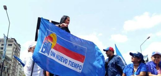 Delsa Solórzano ya se encuentra en la manifestación de este miércoles #19  Foto: Efecto Cocuyo
