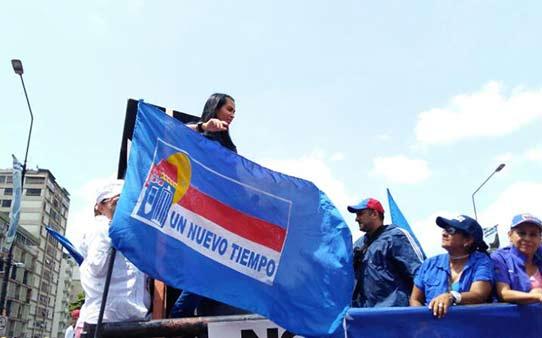 Delsa Solórzano ya se encuentra en la manifestación de este miércoles #19 |Foto: Efecto Cocuyo