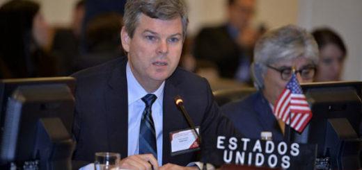 Representante interino de EEUU en la OEA, Kevin Sullivan | EFE