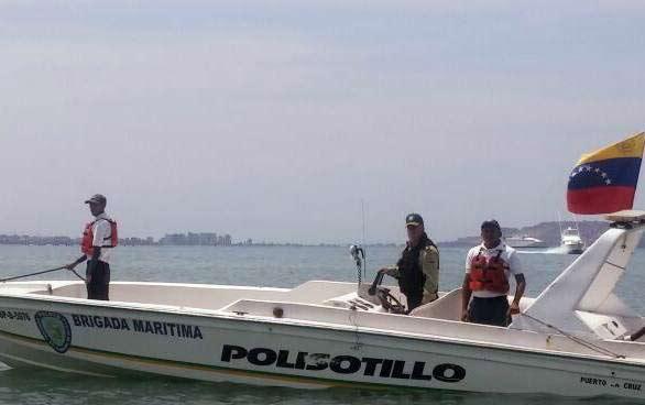 Brigada marítima  Foto: Twitter