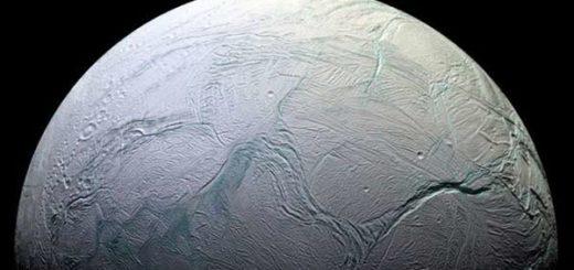 Encélado, luna de Saturno |Foto: BBC Mundo