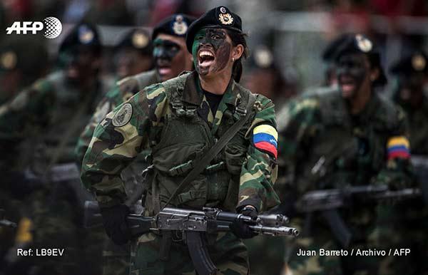 Militares venezolanos |Foto: AFP