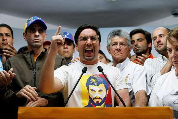 Freddy Guevara |Foto: Reuters