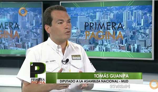 Tomás Guanipa | Captura de video