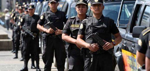Cuerpo de seguridad de Guatemala |Foto: EFE