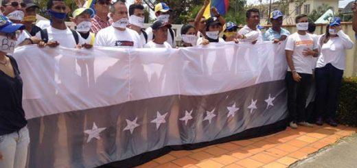 Guayana protesta en silencio por los caídos |Foto: Pableysa Ostos